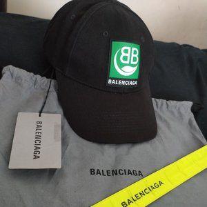 balenciaga leaf logo hat